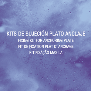 Kit plato anclaje Ryme Automotive